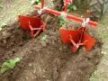butter les pommes de terre avec un butoir pour motoculteur ou micro tracteur chez TDO