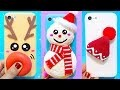 3 DIY STRESS RELIEVER PHONE CASES | DIY Christmas Phone Case Decorations