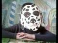 DIY : Masque de  carnaval dalmatien à fabriquer