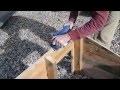 Comment faire une niche pour chien avec des palettes