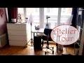 [Atelier Tour !] Mes rangements, mon matos, mon atelier !