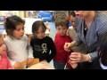 Eruption volcanique : expérience des élèves de GS Ecole Puységur