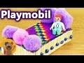 Fabriquer un lit Playmobil soi-même pour Emma Brie Faire des meubles pour poupées et Playmobils