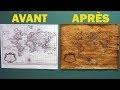 Comment vieillir du papier (Astuce facile et rapide) - Technique #1