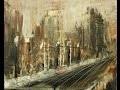 Ville terreuse Mathieu Robert Speed painting peinture rapide acrylique 20 minute