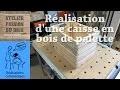 Réalisation d'une caisse en bois de palette | Making a pallet wood crate