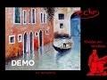 La gondole - Démo de peinture au couteau - Pascal Clus