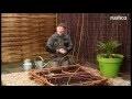 Réaliser un carré potager en plessis d'osier
