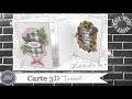 """Vidéo-Tuto """"Carte 3D * Tunnel"""" par Coul'Heure Papier"""