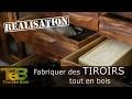 Établi shaker # 18 Comment faire des tiroirs classiques tout en bois