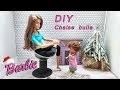 Tuto FACILE : Comment faire une chaise pour Barbie - DIY accessoires Barbie