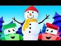 Dessins animés camions pour enfants - Le bonhomme de neige - Truck Games