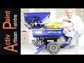 Euromair JETMIX 100 Pulvérisation POMPE D'ENDUIT patte ou pourdre machine projeter enduit peinture