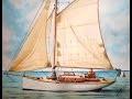 marine n°6 voilier (aquarelle)