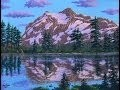 Comment Peindre La Montagne De Neige A L'Acrylique Sur La Toile Complet