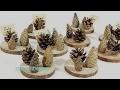 93 Décoration de noël pomme de pin - décoration de noël : fabriquer facilement une couronne de noël