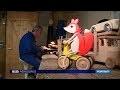 Fabrication de jouets en bois à Saint Geyrac
