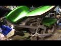 présentation pocket bike électrique maison