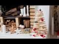 Comment fabriquer un sapin de Noël en bois WOODY