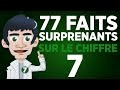 77 faits surprenants sur le chiffre 7