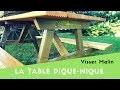Comment fabriquer une table pique nique - EP38