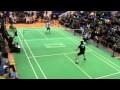 Finale Simple Hommes, 24eme Tournoi International d'Aix en Provence, AUC Badminton