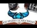 REVUE TUTO: NOUVELLE RÉSINE CERNIT KIT FINISH GLASS: Collier bleu Océan