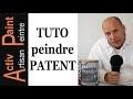 MISE EN PEINTURE peindre PATENT PAPIER INTISSE TOILE DE VERRE