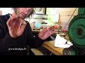 Fabrication de boucles d' oreilles argent corail