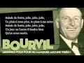 Bourvil - Salade de fruits - Paroles (Lyrics)