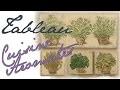Tableau Aromates Pochoir Basilic