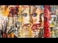 """Greg Mattera """"serie wall paper"""" art 2012"""