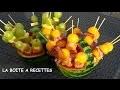 Comment transformer une pastèque en corbeille à fruits - APERITIF DINATOIRE - LA BOITE A RECETTES