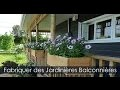 Construire des Jardinières en bois et Concevoir des Bacs à fleurs