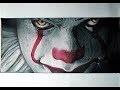 dessiner le Clown ça  réaliste ( draw a realistic PENNYWISE IT ) promarker pastel sec
