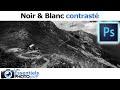 3. Photoshop Express - Noir et Blanc Contrasté
