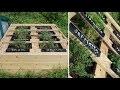 2 idées d'utilisation de planches de palettes au jardin potager