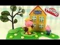 Maison de Peppa Pig Play Doh Pâte à modeler Tuto