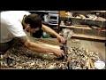 Travail du Bois / Une Lampe de bois flotte�