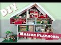 Comment faire une MAISON DE PLAYMOBIL (facile)