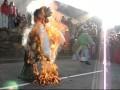 on brûle Monsieur Carnaval