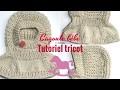 Cagoule bébé, tutoriel tricot ðŸ�£bambino cappuccio/knit Baby hood