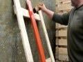 fabrication de la peinture extérieur a la farine (peinture suédoise )