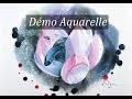 [Démo Aquarelle] Lotus et Combattant