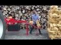 RABAUD - Machine à bûchettes Allume-feu avec ensachage du bois rangé
