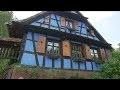 Les maisons à colombages, symbole de l'Alsace