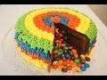 JE CUISINE : RAINBOW CAKE SURPRISE M&M'S