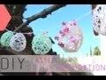 DIY Pâques : Oeufs en fil de laine - Easter eggs decoration (english subs)