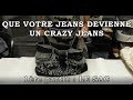 Que votre jeans devienne  un sac Crazy jeans !