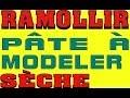 Ramollir Pate A Modeler Seche